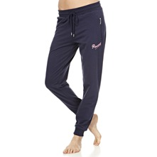 Blue Zip Pocket Skinny Trousers 29