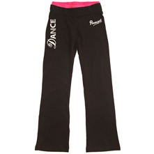 Black Dance Kickflare Trousers