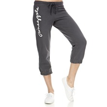 Charcoal Covent Crop Trousers 22