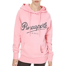 Light Pink Retro Hooded Jumper