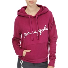 Purple Covent Hooded Jumper