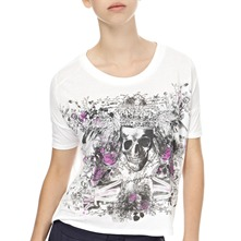 White Skull Rock T-Shirt