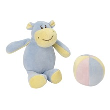 Peluche Hippo et Ballon