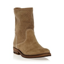 Boots Hudson en cuir sable