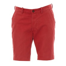 Short chino Commodity rouge