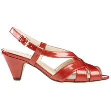 Coral Lizzie Sandals 6cm Heel D Fitting