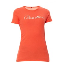 T-shirt corail