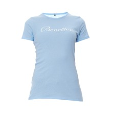 T-shirt bleu clair