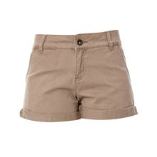 Short taupe