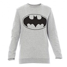 Sweat Bat gris chiné