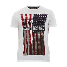 T-shirt imprim blanc