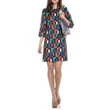 Red/Multi Darcie Day Dress