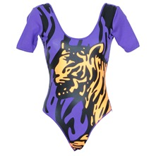 Purple Tiger Short Sleeve Body