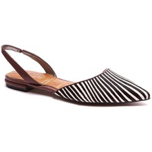 Black/White Harper Slingback Shoes