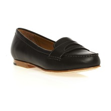 Mocassins Darling Classic en cuir noir