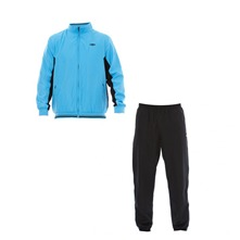 Ensemble suvtement veste et bas de jogging bleu et noir