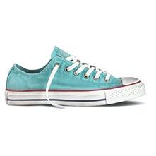 Sneakers Ctas Fashion Washed bleu ciel et blanc