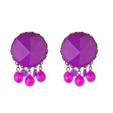Purple Amethyst St. Petersburg Large Earrings
