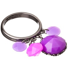 Purple Amethyst St. Petersburg Ring