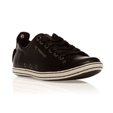 Baskets Exo en cuir noir