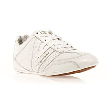 Sneakers Milan en cuir blanc