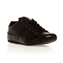 Sneakers Tonik en cuir noir