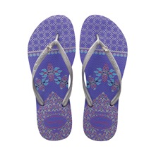 Tongs Slim Royal violettes