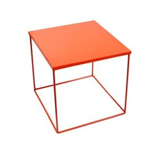 Table de chevet Kube Orange