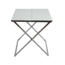 Table de chevet Origami Gris clair