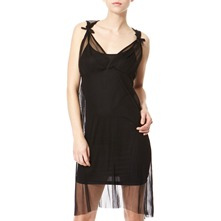 Black Degas Net Dress
