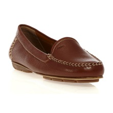 Mocassins Italy en cuir marron