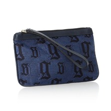 Trousse logotype bleue