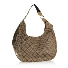 Sac  main logotyp marron