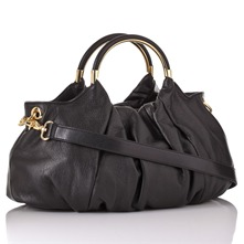 Black Nappa Handbag