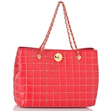 Red/Gold Shopper
