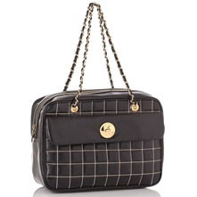 Black/Gold Shoulder Bag
