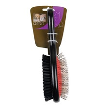 Grande brosse double en bois noire
