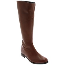Tobacco Capucine Zip Fastening Leather Boots