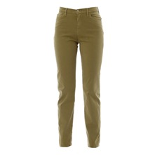 Pantalon Ravissante Satin Olive Stretch