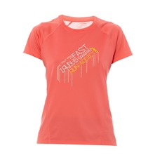 T-shirt GRAPHIC corail