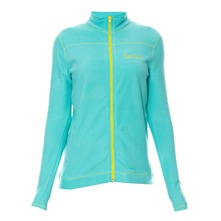 Veste polaire turquoise