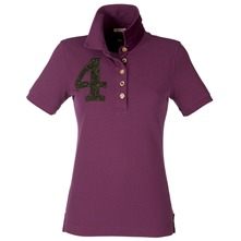 Purple Beaufort Roxton Polo Shirt