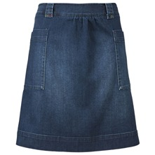 Blue Tintern Denim Skirt