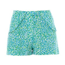 Short - estampado azul