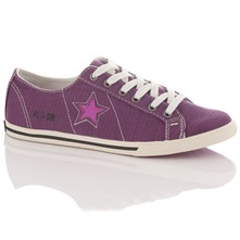 Women's Purple One Star Pro Low-Rise Trainers