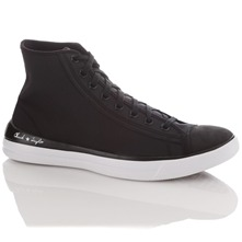 Men's Black All Star Remix High Top Trainers