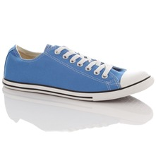 Men's Blue Seasonal Slim Trainers