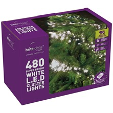 480 White Cluster LED Lights