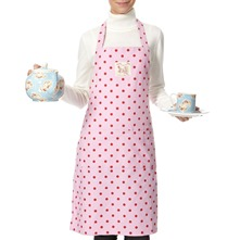 Pink/Red Polka Dot Apron