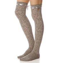 Grey Bramble Knee High Socks